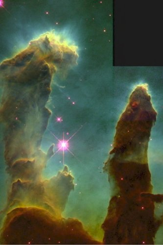 New 4X6 Space Photo: Eagle Nebula From Hubble Space Tele