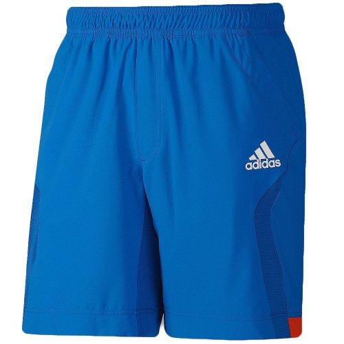 Adidas Mens Barricade Formotion Tennis Court Shorts - Blue - X12736