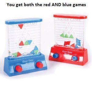 2- Triangle Water Game (Blue and Red) - 1