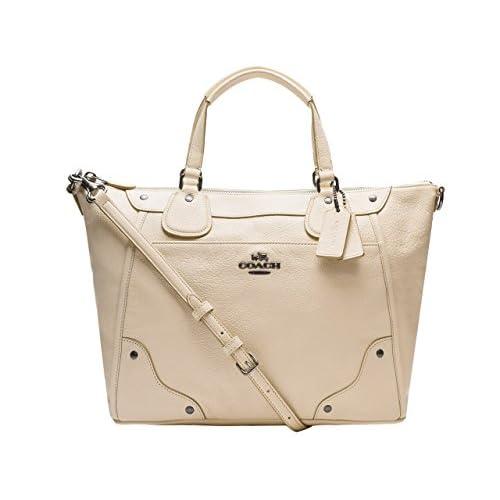 (コーチ) COACH バッグ BAG 2way ハンドバッグ トートバッグ オフホワイト レザー f34040qbchk アウトレット ブランド 並行輸入品