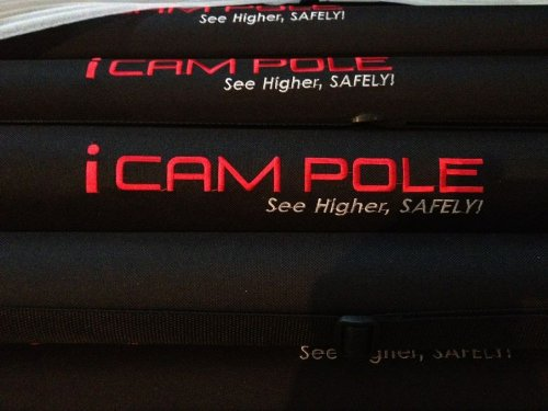 Icam Pole Hd 24Ft Telescopic Camera Extension Pole
