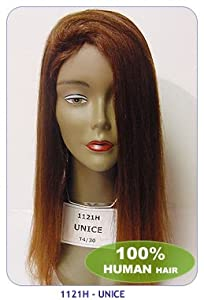 New born free human hair wig: UNICE-Color: 2