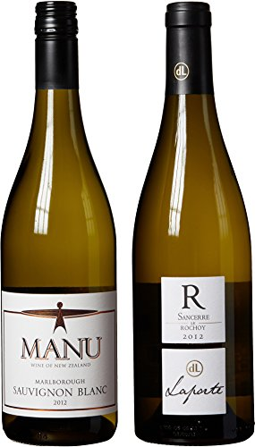 "New Zealand Sauvignon Blanc & Sancerre Themed Wine Pairing - ""Hand Selected By America'S 1St Master Sommelier"" - A Comparative Way To Explore Food & Wine! Mixed Pack, 2 X 750 Ml"