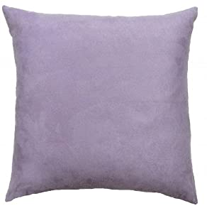 Amazon.com - Dreamhome - Solid Faux Suede Euro Pillow Cover, 26