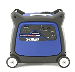 Yamaha EF4500iSE 4,500 Watt 357cc OHV 4-Stroke Gas Powered Portable Inverter Generator With Electric Start (CARB Compliant)