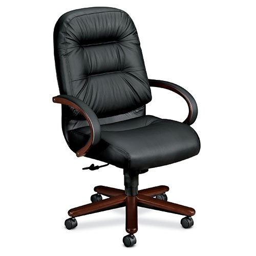 executive high back chair mahogany black leather cheap desk chairs