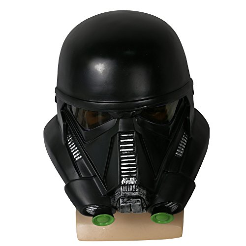 BFJ Rogue One: A Star Wars Story Death Trooper Men's Adult PVC Cosplay Mask