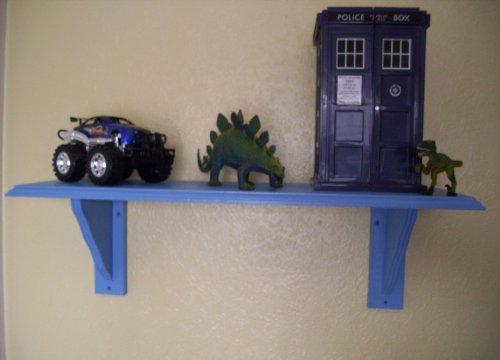 Childrens Bedroom Royal Blue Shelf, Shelves, Storage, Toy storage, Childrens Furniture