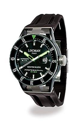 Locman Montecristo Professional Divers' PVD Automatic