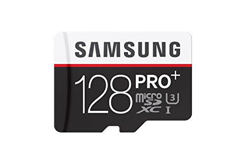 Samsung Micro SDXC 128GB PRO PLUS UHS-I Grade 1 Class 10 Speicherkarte (bis zu 95MB/s lesen, bis zu 90MB/s schreiben) mit Adapter