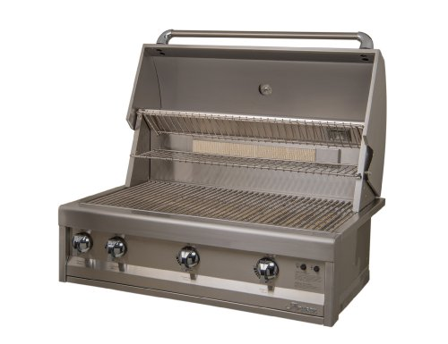 Artisan Grills ART-36-LP 75000 BTU Built-In Propane Grill/BBQ with Rotisserie and Lights, 36-Inch