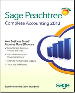 Sage Peachtree Complete Accounting 2012 Software