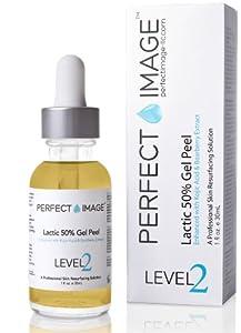 Lactic Acid 50% Gel Peel - Enhanced with Kojic Acid & Bearberry Extract (Professional Chemical Peel)