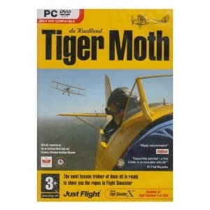 Tiger Moth: Flight Simulator X/2004 Expansion- PC NEW