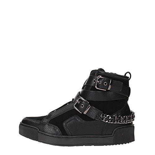 Luciano Barachini 5105A Sneakers Donna Pelle NERO NERO 37