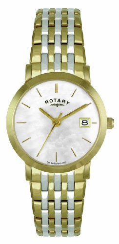 Rotary LB02623/41 Ladies Two-tone Gold PVD Stainless Steel Bracelet Watch