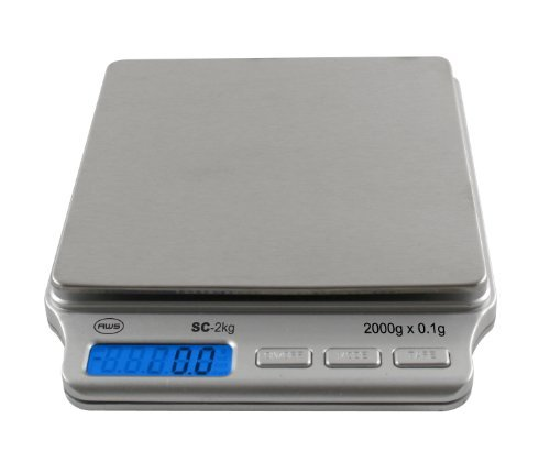 American Weigh Scales AMW-SC-2KG Digital Pocket Scale, 2 Scales