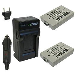 Wasabi Power Battery and Charger Kit for Canon BP-110 CG-110 VIXIA HF R20 HF R21 HF R200
