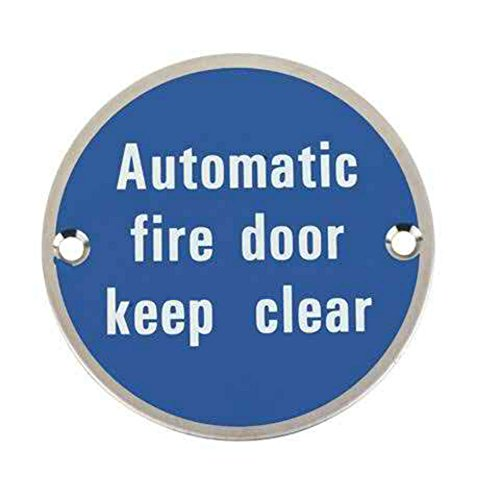 Fire Safety Sign 76 mm