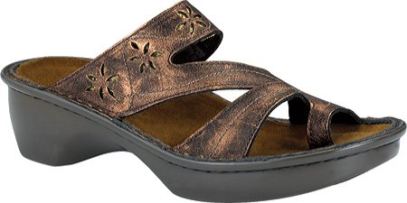 Naot Women's Montreal Sandals,Burnt Copper Leather,42 M EU