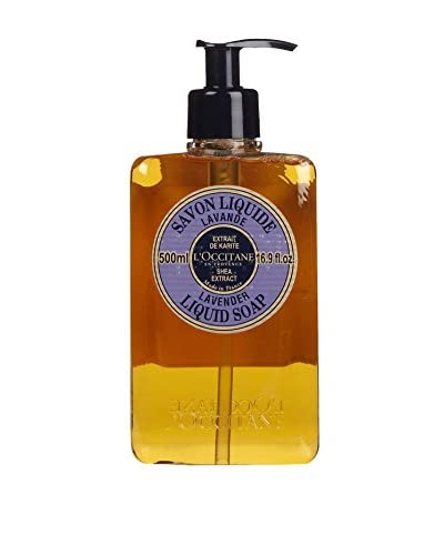 L'Occitane Shea Butter Lavender Liquid Soap, 16.9 fl. oz.