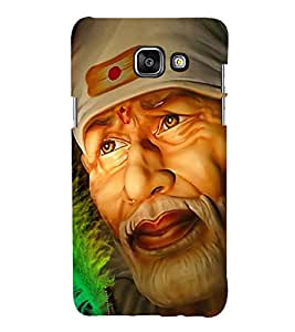 Sai Baba 3D Hard Polycarbonate Designer Back Case Cover for Samsung Galaxy A5 (2016) :: Samsung Galaxy A5 2016 Duos :: Samsung Galaxy A5 2016 A510F A510M A510FD A5100 A510Y :: Samsung Galaxy A5 A510 2016 Edition