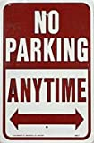 """Hy-Ko Prod. HW-1 Highway Signs - """"No Parking Anytime"""""""