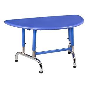 Amazon Com Blue Half Circle Plastic Activity Table