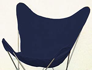 Amazon Com Butterfly Chair Cover Navy Blue Patio Lawn