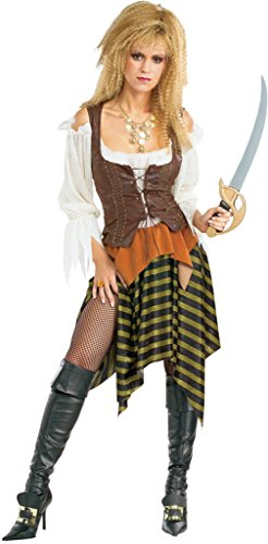 Rubies Womens Pirate Wench Theme Party Fancy Dress Halloween Costume