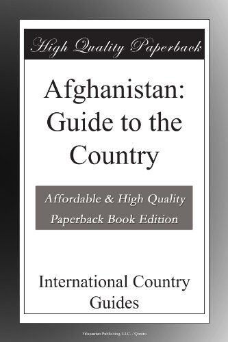 Afghanistan: Guide to the Country