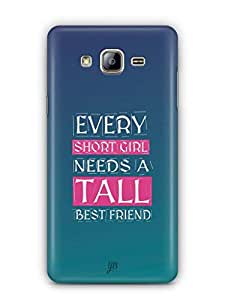 YuBingo Girl Needs a Best Friend Mobile Case Back Cover for Samsung On5