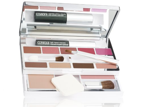 Clinique All In One Colour Palette Boxed Set (Mascara, 5x Lipsticks, 4x Eyeshadows, Superpowder, Blusher plus more!