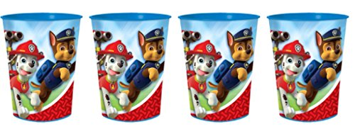 PAW Patrol Favor Cup ~ 4 Pack