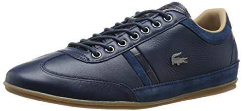 Lacoste Men's Misano 36 Srm Fashion Sneaker, Navy, 9.5 M US
