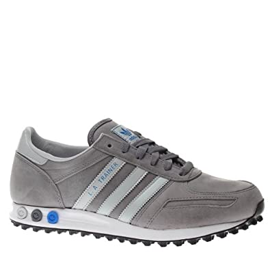 adidas trainers shoes mens la trainer grey. Black Bedroom Furniture Sets. Home Design Ideas