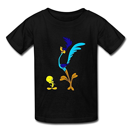 renhe-kids-cute-tweety-and-road-runner-t-shirts-x-large