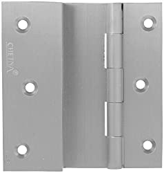 Klaxon L5 75 MM Brass Door Hinge - Drawer Hinge (Silver)