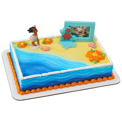 Disney Moana Adventures in Oceania Cake Topper
