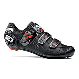Sidi 2011 Genius 5 Pro Carbon Men's Road Cycling Shoes - Black (41)