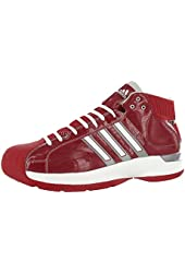 Adidas Sm Pro Model Basketball Mens Shoe Red Sz