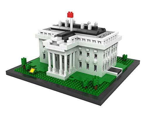 lego architecture white house instructions