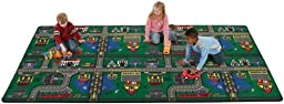 Novelty Educational Places To Go Kids Rug Size: 6\' x 9\'