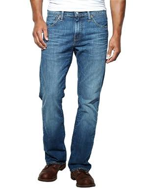 Levis - Blue 527 Bootcut Jeans - Mens - Size: W34-L30