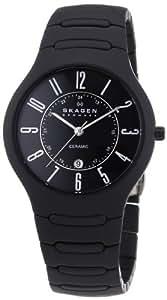 Skagen Men's 817LBXC Ceramic Black Watch