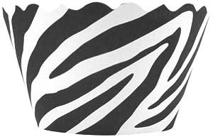 Bella Couture Zebra Cupcake Wrappers