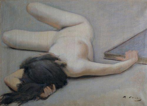 RAMON Nackte Frau CASAS c1894