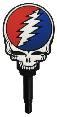 Grateful Dead Charapin Earphone Jack Accessory (Skull)