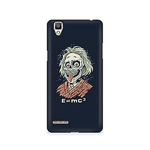 Ebby Skully Einstein Premium Printed Case For Oppo F1