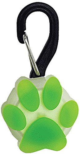 Nite Ize PetLit LED Collar Light White LED - Paw Green